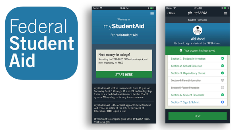 Apps for Financial Aid