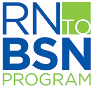 RN to BSN program logo